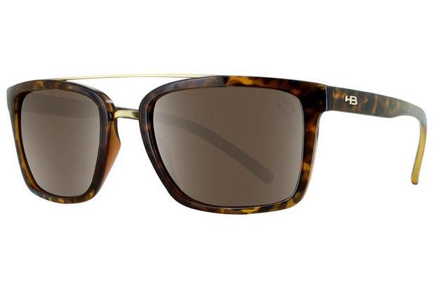 c306a324baee6 Óculos de Sol HB Spencer 90130 687 53 Tartaruga - Óculos de Sol ...