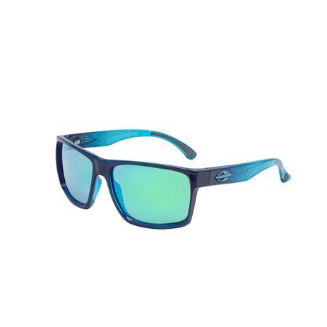 Óculos De Sol Infantil Carmel Nxt Azul Escuro Lente Espelhada Verde Mormaii 8858141dcf