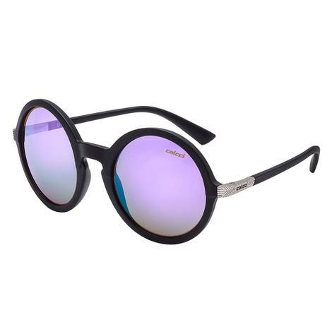 Óculos De Sol Janis Proteção UV Policarbon Lente Roxa Colcci ... 7cd4c5d8fb