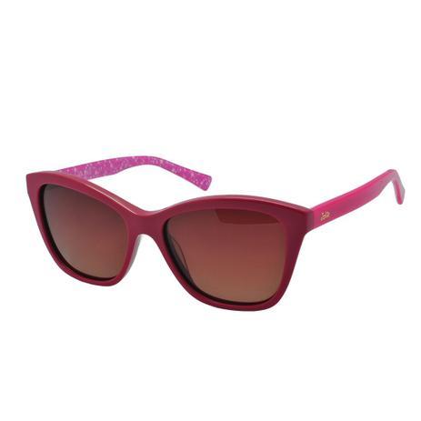 5199d3166 Óculos de Sol Jolie Infantil Feminino JO9007 D01 - Acetato Rosa e Lente  Marrom
