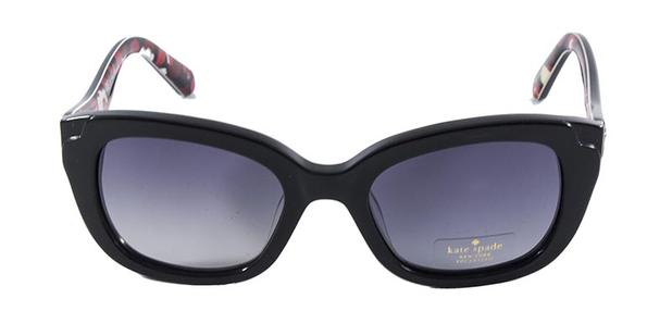 Óculos de Sol Kate Spade DANELLA 807P Preto Lentes Cinza Degradê Polarizadas b87e72a70d
