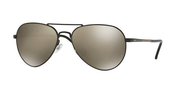 18f0747f100cb Óculos de Sol Kipling KP2017 E467 Preto Lente Espelhada Prata Tam 58 ...