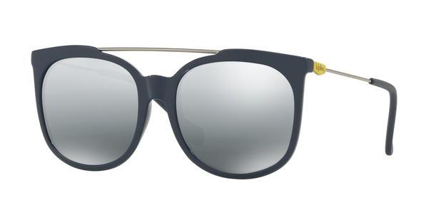 10f5ea94c Óculos de Sol Kipling KP4053 F601 Preto Lente Espelhada Prata Tam 55 ...