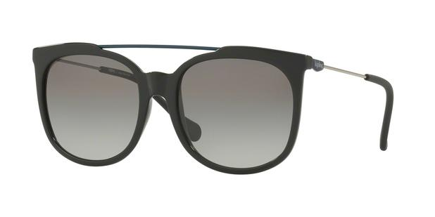 306f4d8945533 Óculos de Sol Kipling KP4053 F602 Preto Lente Cinza Degradê Tam 55 ...