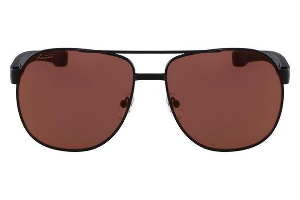 396c978b65a37 Óculos de Sol Lacoste L186S 001 57 Preto Fosco - Óculos de Sol ...