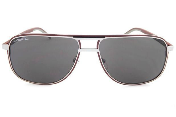 7188f4a648bd9 Óculos de Sol Lacoste L192S 038 61 Cinza - Óculos de Sol - Magazine ...