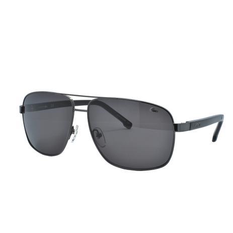 007441d73ee6c Óculos de Sol Lacoste Masculino L162S 033 - Metal Preto - Óculos de ...