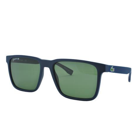 91db08d73 Óculos de Sol Lacoste Masculino L872S 421 - Acetato Azul ...