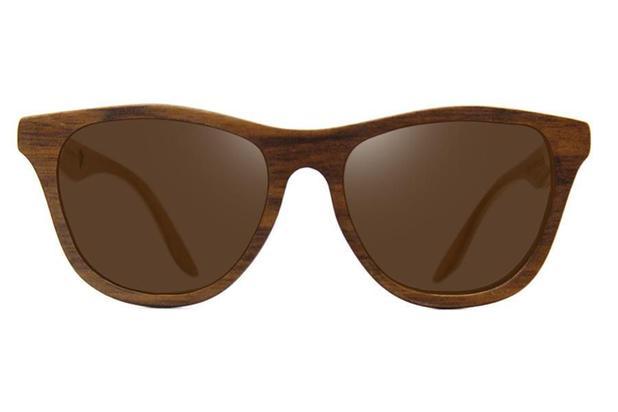 Óculos de Sol Leaf em Madeira - Drop Brown - Lente Marrom 53 ... 6d3ba33a36
