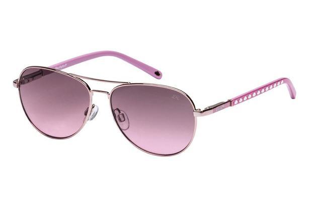 b1ce647f78a49 Óculos de Sol Lilica Ripilica SLR110 C03 50 Prata Rosa - Óculos de ...