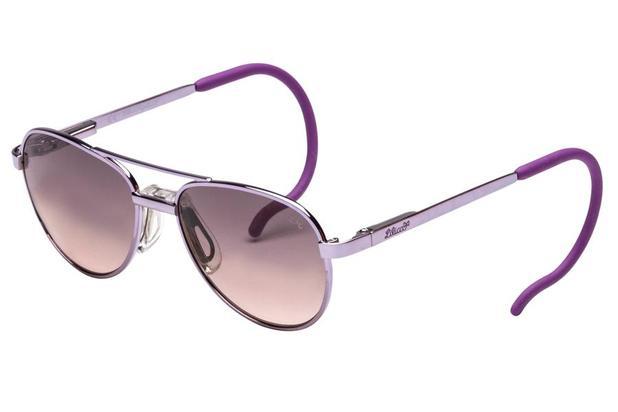 66c4bd32b1389 Óculos de Sol Lilica Ripilica SLR119 C03 44 Prata Roxo - Óculos de ...