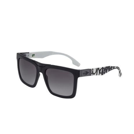 398b32a83ac09 Óculos De Sol Long Beach Preto E Branco Lente Básica Cinza Mormaii ...