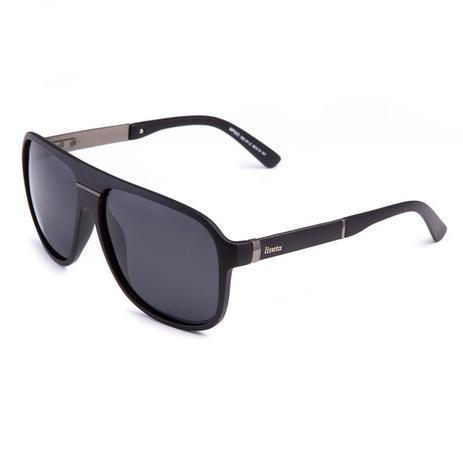 52cfe83a8 Óculos De Sol Masculino Acetato Live145 Preto - Proteção UVA UVB Polarizado  - Liveta ...