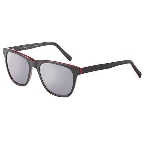 571ecc361ce6a Óculos de Sol Masculino Jaguar 7157 4146 - Preto Vermelho - Óculos ...