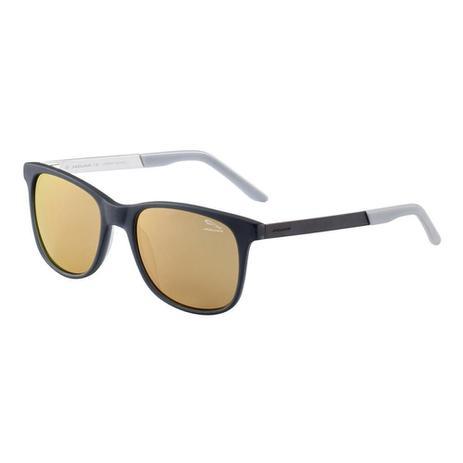 Óculos de Sol Masculino Jaguar 7163 4010 - Preto   Marrom - Óculos ... 979657bb25