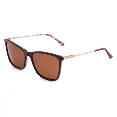 44abfd7d6 Óculos De Sol Masculino Metal Live144 Marrom - Proteção UVA UVB Polarizado  - Liveta