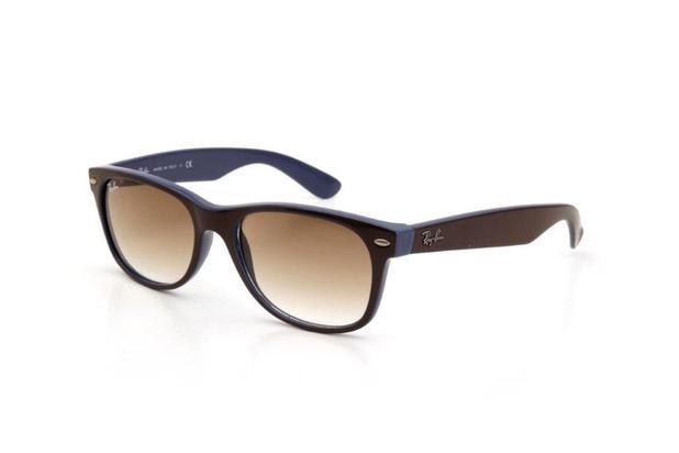 e1f945c60ce13 Óculos de Sol Masculino Ray Ban Acetato Proteção UV Marrom - Ray-ban
