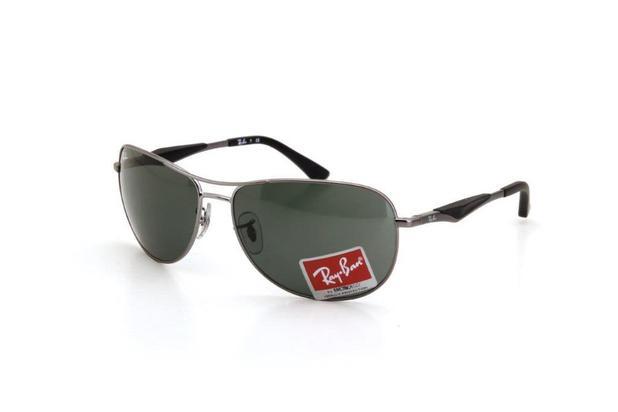 152cf8be6 Óculos de Sol Masculino Ray Ban Metal Proteção UV Prata - Ray-ban ...
