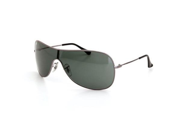 03312b92c7413 Óculos de Sol Masculino Ray Ban Proteção UV Metal Prata - Ray-ban ...