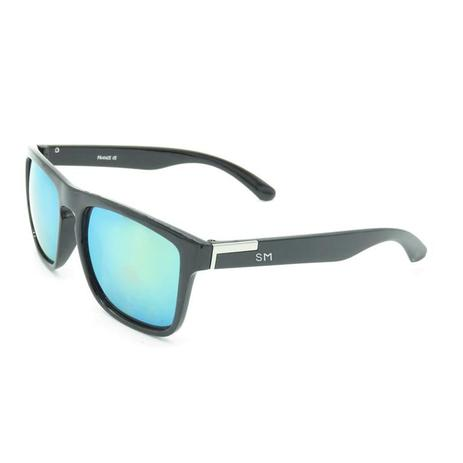 b4c272535 Óculos de sol masculino sandro moscoloni prado preto black - Óculos ...