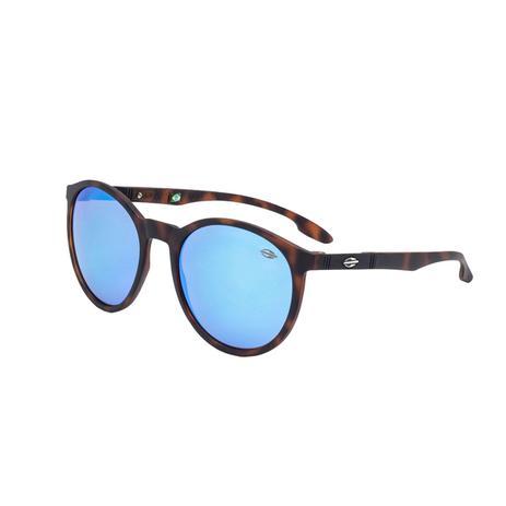 57516630a9f76 Óculos De Sol Maui Azul E Marrom M0035 Mormaii - Óculos de Sol ...
