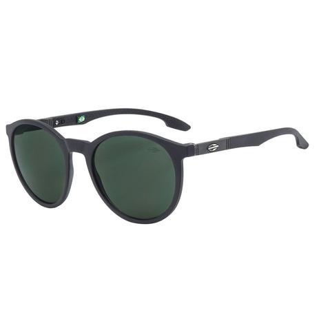 154ffad082958 Óculos De Sol Maui Preto Com Lente Básica Verde Mormaii - Óculos de ...