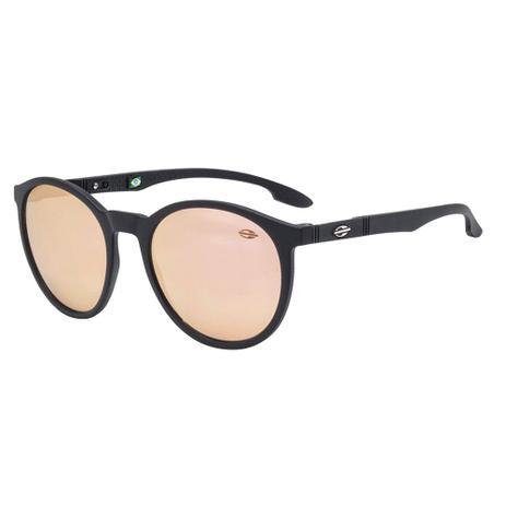 82c29705ee007 Óculos De Sol Maui Preto Com Lente Espelhada Rose Mormaii - Óculos ...
