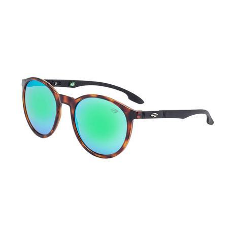 98c1ede734747 Óculos De Sol Maui Verde E Marrom M0035 Mormaii - Óculos de Sol ...