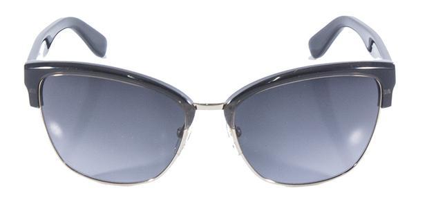 Óculos de Sol MaxMara Cmaster Preto com Ouro - Max mara - Acessórios ... 87abe089be