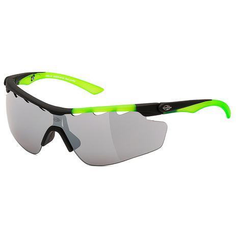 Óculos de Sol Mormaii Athlon 3 Preto C  Verde Lente Cinza PRETO ... 3eb0e8beff