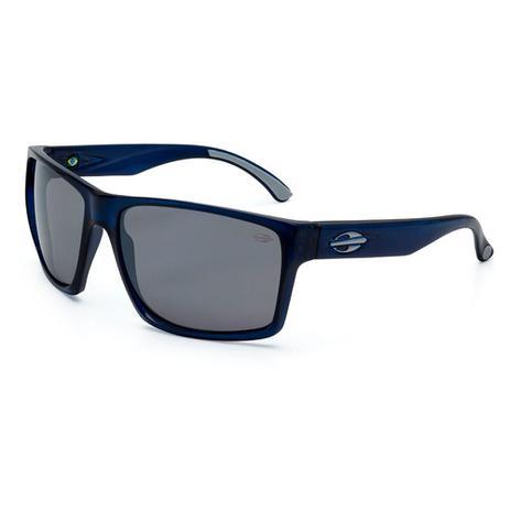 Óculos de sol Mormaii Carmel azul translúcido lente cinza espelhada AZUL 0c64f07942