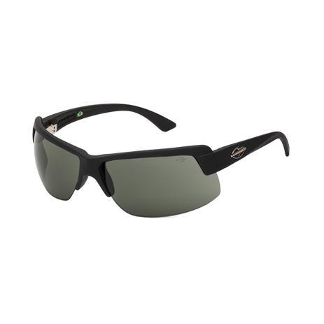ff4939ccd Óculos de Sol Mormaii GAMBOA AIR 3 441 AGA 71 Preto Lente Espelhada Cinza  Tam 77,4