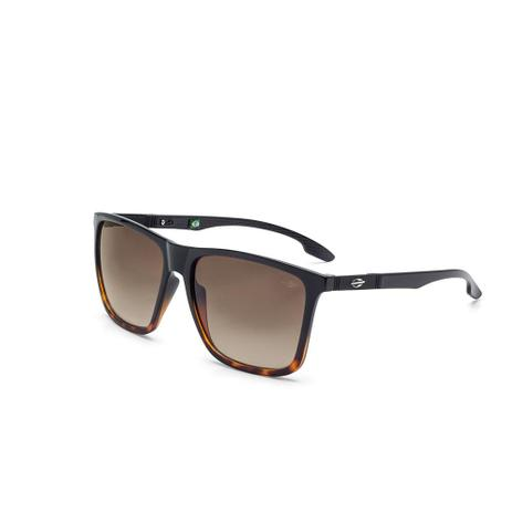 Oculos De Sol Mormaii Hawaii Preto Com Degrade Demi Marrom Brilho ... 0cc4ddd197