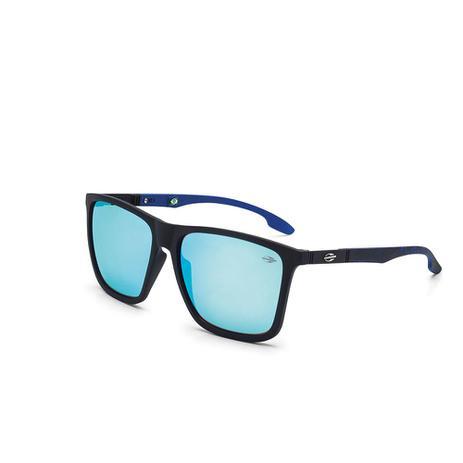 Oculos De Sol Mormaii Hawaii Preto Fosco C  Azul Com Mascara Pret ... 2ab702f737