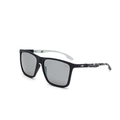 Oculos De Sol Mormaii Hawaii Preto Fosco C  Branco Com Mascara Pr ... 2f53470c56
