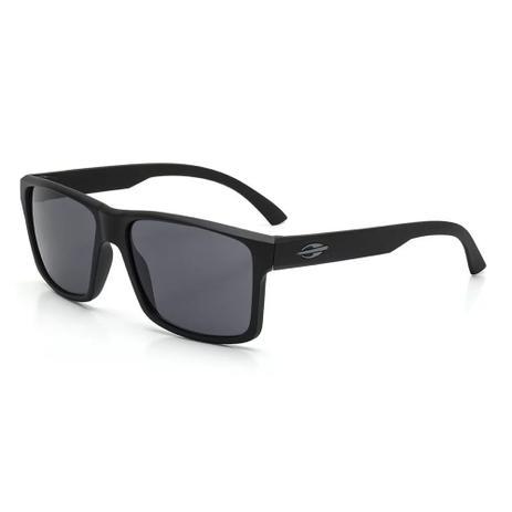 d114ec0c5525c Óculos de sol mormaii lagos preto fosco lente cinza preto - Óculos ...