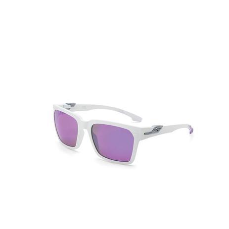 Oculos De Sol Mormaii Las Vegas Branco Com Mascara Violeta Fosco ... f263419a4f