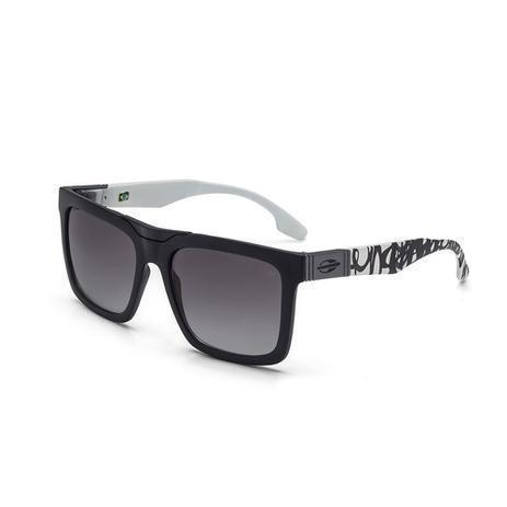 Óculos de sol mormaii long beach preto-branco - Óculos de Sol ... a57869485a