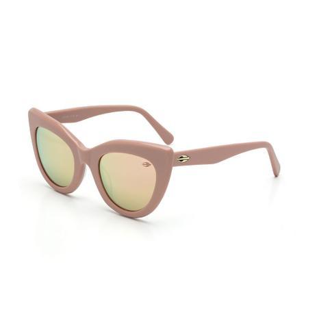 Óculos de sol mormaii m0067 nude brilho lente marrom revo BEGE-ROSA ... 9e5fe1d706