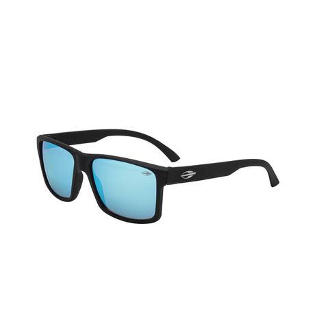 50d3c478f Óculos De Sol Mormaii M0074A1497 Lagos Preto Fosco Lente Azul ...