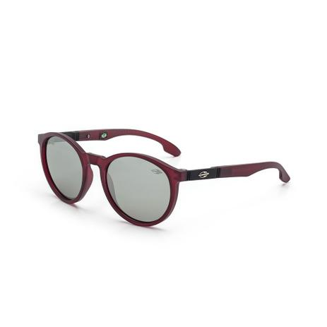Óculos de sol mormaii maui nxt infantil burgundy fosco lente cinza fl prata  bordo c0812875fc