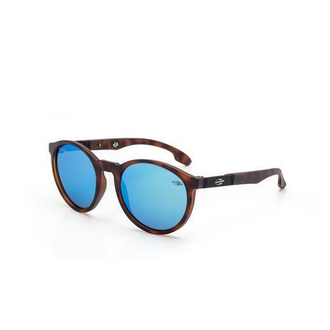 b820b153b0180 Óculos de Sol Mormaii MAUI NXT M0072 F70 97 Tartaruga Lente Espelhada Azul  Tam 41