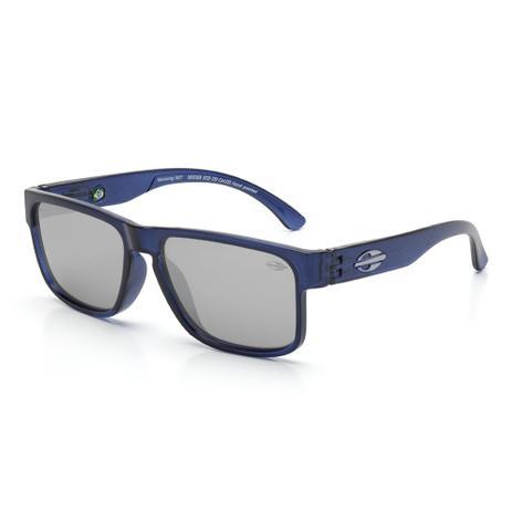 6060829c0 Óculos de sol Mormaii monterey nxt infantil azul translucido  AZUL-TRANSPARENTE