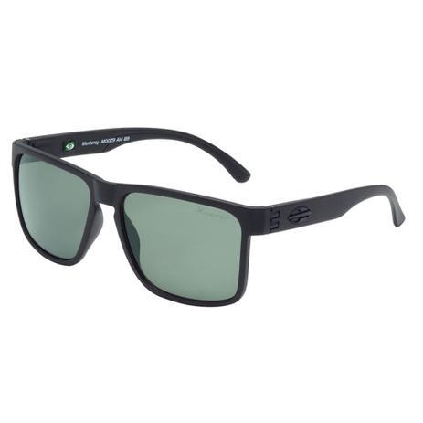 16124bb3e29bf Óculos de Sol Mormaii Monterey Preto Fosco e Verde Polarizada M0029A1489  Mormaii
