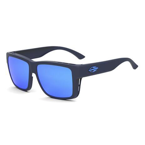 Óculos De Sol Mormaii Overlap Azul Fosco lente azul AZUL - Óculos de ... 0744b16c22