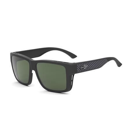 Óculos de Sol Mormaii OVERLAP M0083 AEZ 89 Preto Lente Polarizada Verde  Escuro Tam 51 8300603980