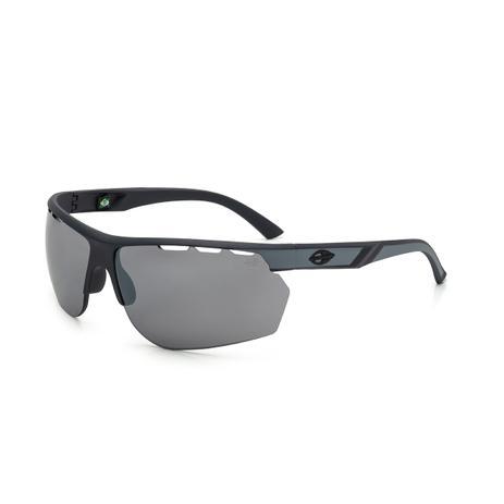 43e9f028c3630 Óculos de Sol Mormaii THUNDER M0078 DF5 09 Cinza Lente Espelhada Prata Tam  62