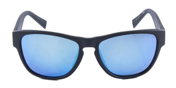 44cd748b1ec9e Óculos de Sol Nautica N6191S Preto Azul Lente Espelhada - Óculos de ...