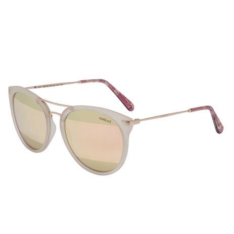 424aa7d219050 Óculos De Sol Nude E Dourado Fosco Linda C0095B5239 Colcci - Óculos ...