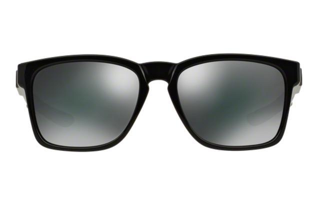 f5b37dc8e0e94 Óculos de Sol Oakley Catalyst OO9272 02 Preto Polido Lente Preto Iridium  Tam 56